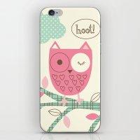 Hooty Owl iPhone & iPod Skin
