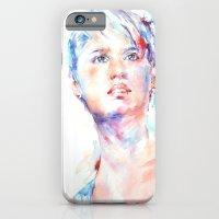 Eyes Of Blue . . . Portr… iPhone 6 Slim Case