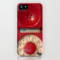 iPhone 5s & iPhone 5 Cases featuring Hotline by bomobob