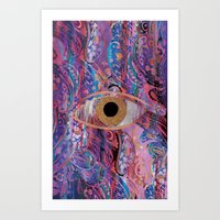 Third Eye Rave Art Print