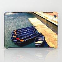 Row Boats iPad Case