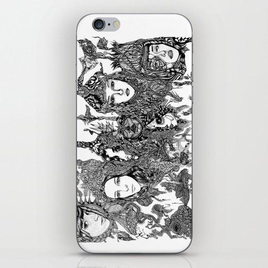 LADIES ON MARS iPhone & iPod Skin