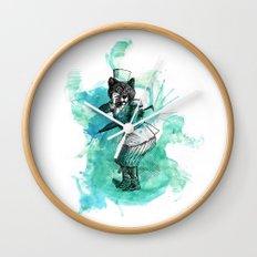 Carnival Bear Time Traveler Wall Clock
