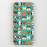 Dogs Dogs Dogs iPhone & iPod Skin