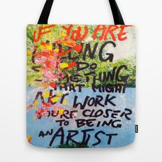 IF YOU ARE WILLING Tote Bag