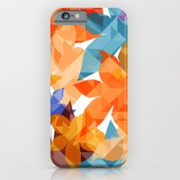 iPhone & iPod Case featuring Geometric Floral II by AJJ ▲ Angela Jane Johnston