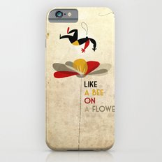 Like a bee on a flower Slim Case iPhone 6s