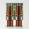 FL Wright Cubic Design Stationery Cards