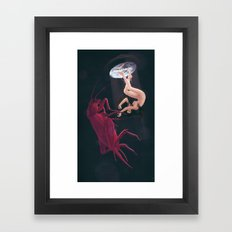 Bitterness for Three Sleepwalkers Framed Art Print