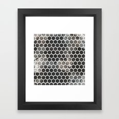 Graphic_Cells Paint Framed Art Print