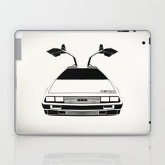 Delorean DMC 12 / Time machine / 1985 Laptop & iPad Skin