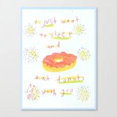 donuts 4 u Canvas Print
