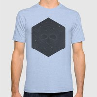 Dead Space Mens Fitted Tee Athletic Blue SMALL