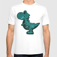 X-Ray Stories Mens Fitted Tee White SMALL