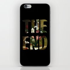 The END iPhone & iPod Skin