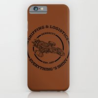 iPhone & iPod Case featuring SERENITY SHIPPING AND LOGISTICS by BomDesignz