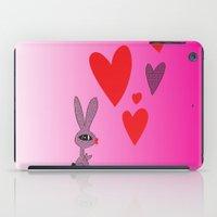 Lovy Bunny iPad Case