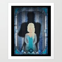 Shadow Collection, Series 1 - Frost Art Print