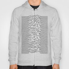 Unknown Pleasures - White Hoody
