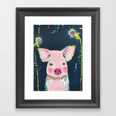 pig Framed Art Print