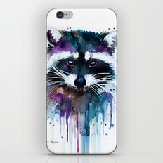 Raccoon iPhone & iPod Skin
