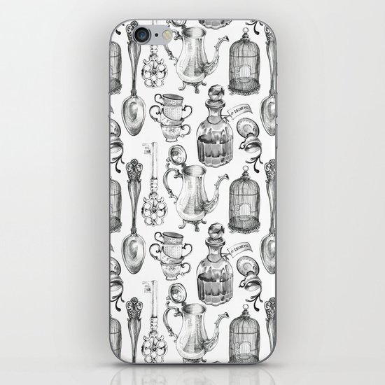 Alice Encounters iPhone & iPod Skin