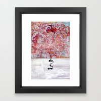 MiroCosmic StillLife Sce… Framed Art Print