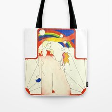 Deco Rainbow Tote Bag