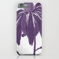 iPhone & iPod Case featuring Purple Petals by Kokabella