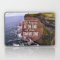 The End Of Your Comfort Zone Laptop & iPad Skin