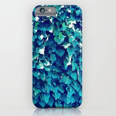 Blue And Green Foliage iPhone 6 Slim Case