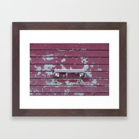 Handle Framed Art Print