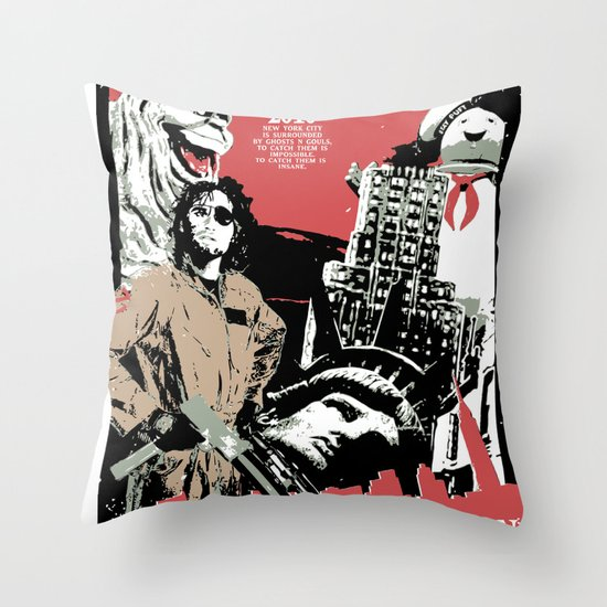 Outbreak in New York Throw Pillow
