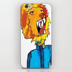 water lion iPhone & iPod Skin