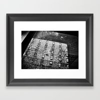 Shattered Reflections  Framed Art Print