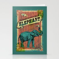My Favorite Elephant Stationery Cards