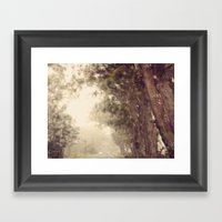 Rain On Me Framed Art Print