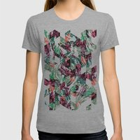 Rocky Diamonds Womens Fitted Tee Athletic Grey SMALL