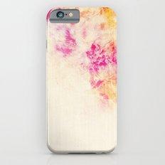 girly pink orange galaxy iPhone 6 Slim Case