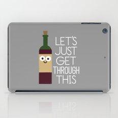 When You're Feeling Merlot iPad Case