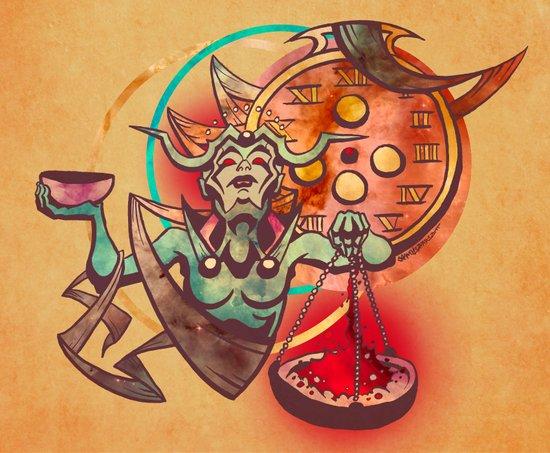 The Hour Cosmic Art Print