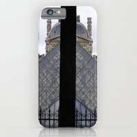 iPhone & iPod Case featuring Louvre Pyramid by Cade Leebron