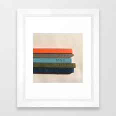 Chosen Colors Framed Art Print