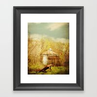 The Crib Framed Art Print