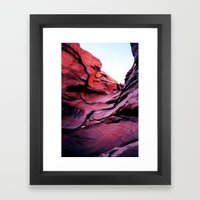 Rainbow Canyon Framed Art Print