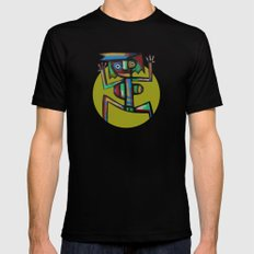 Dancer Mens Fitted Tee Black SMALL