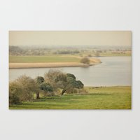 The River Shannon  Canvas Print