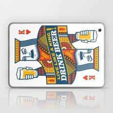 King of Beers Laptop & iPad Skin