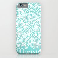 iPhone & iPod Case featuring Tiffany Doodle by emain