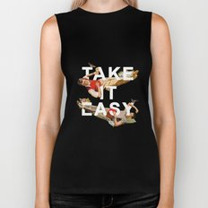 Take It Easy Biker Tank